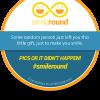 Adesivo omaggio con SmileRound