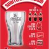 Bicchieri Coca Cola in omaggio