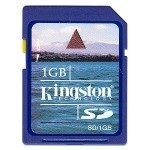 Memoria Kingstone da 1 GB in omaggio