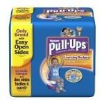 Disponibili campioni gratis dei pannolini Huggies Pull-Ups
