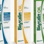 Campione omaggio dello shampoo Bioscalin Oil nelle farmacie