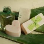 Saponetta artigianale all'Aloe Vera in omaggio