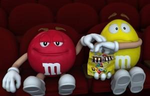 cinema gratis promozione m&m's