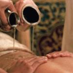 Campioni omaggio di oli per massaggi