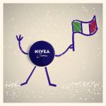 Maglietta dell'Italia in omaggio con Nivea