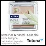 Campione omaggio della cipria Nivea Pure & Natural