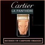 Campione omaggio del profumo Cartier la Panthère