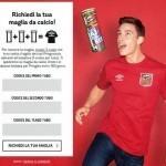 Maglietta da calcio in omaggio con Pringles