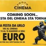 Festa del Cinema dall'8 al 15 maggio