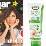 Gel per gambe Equilibra con le riviste StarTv & LifeStyle