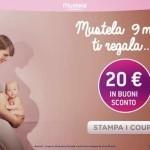 20 euro di coupon Mustela da stampare