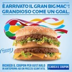 Coupon per il Gran Big Mac da McDonald's