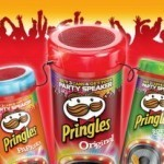 Speaker Pringles in omaggio