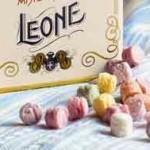 Lattina con caramelle-pastiglie Leone in omaggio
