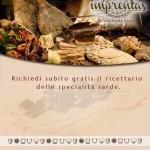 Ricettario specialità sarde in omaggio