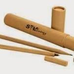 Set penna, matita e temperino in omaggio
