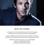 Profumo Bleu de Chanel in omaggio presso le profumerie Ethos