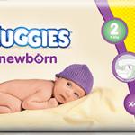 Campione omaggio dei pannolini Huggies Newborn