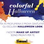 Make up di Halloween gratis nelle profumerie Limoni