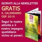 Calendario 2015 OSF in omaggio