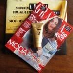 Maschera Biopoint in omaggio con rivista Grazia