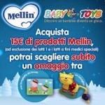 Omaggio a scelta acquistando prodotti Mellin