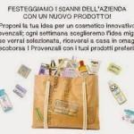 Borsa ecologica omaggio con prodotti I provenzali