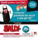 Grembiule omaggio da Dondi Salotti
