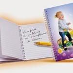 Block Notes Pampers con foto personalizzata in omaggio