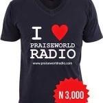 Maglietta omaggio da Radio Praiseworld