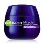 Campioni omaggio crema viso Garnier Miracle Sleepin Anti-età