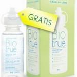 Prova omaggio pulizia lenti a contatto Biotrue