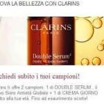 Siero antieta' e crema giorno Clarins gratis