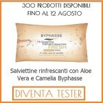 300 Salviettine Rinfrescanti Aloe Vera e Camelia Byphasse da provare