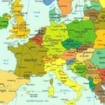 Cartina 40×60 cm dell'Europa in omaggio
