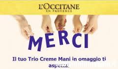occitane omaggio