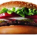 Panino gratis da Burger King