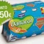 Coupon sconto per l'acquisto di Danacol di Danone