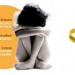 Braccialetto omaggio contro la violenza sulle donne