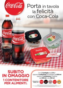 contenitore alimenti coca cola
