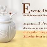 Zuccheriera Le Cantastorie in omaggio da Mulino Bianco