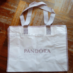 Shopper bag in omaggio da Pandora