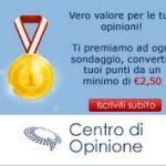 Campioncini omaggio e prodotti gratis da Centro di Opinione