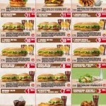 Buoni sconto 2015 Burger King