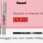Mini matita Multiplay Pupa Milano in omaggio