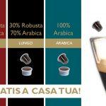 Campione omaggio del caffè I Love Mara